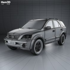 Buy Kia Sorento EX US-spec 2002 by on The model was created on real car base. It's created accurately, in real units of measurement, qualitatively and m. Kia Sorento, Cinema 4d, Illustration Art, The Unit, Car, Model, Automobile, Scale Model