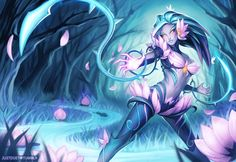 Void Zyra Or Lotus Zyra, You decide what the next Zyra skin should be for 1350…