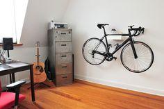 Fixie & bike rack