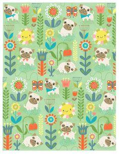 Sarah Walsh pug pattern