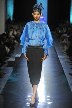 Jean Paul Gaultier Couture Spring 2014 - Slideshow - Runway, Fashion Week, Fashion Shows, Reviews and Fashion Images - WWD.com