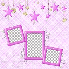 """Layout QP 4B-6 CAFS…..Quick Page, Digital Scrapbooking, Catch A Falling Star Collection, 12"""" x 12"""", 300 dpi, PNG File Format"""