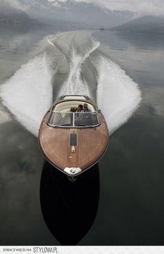 glassy lake = fun ride