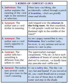 Vocablogic: Context Clues