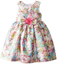 Pippa & Julie Little Girls' Floral Printed Shantung Dress, Multi, 3T Pippa & Julie http://www.amazon.com/dp/B00T6MH2MM/ref=cm_sw_r_pi_dp_v7Wpvb0E0QQTM