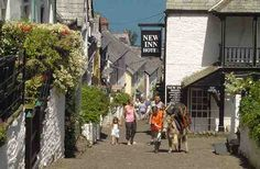 Clovelly North Devon A Picturesque Fishing Village By The Sea