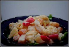 yummy hot prawn and fish salad =) (my most popular recipe so far hehe) Prawn, Shrimp, Fish Salad, Most Popular Recipes, 15 Years, Seafood, Salads, Religion, Bee
