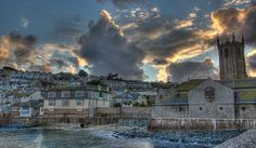 Storm clouds over St Ives,Cornwall, I dearly love this photographers 'eye', thank you for sharing these.