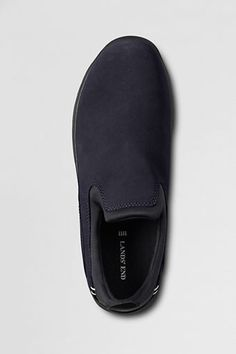 Men's Wide All Weather Mocs - Size 8 Wide Navy Blue $45