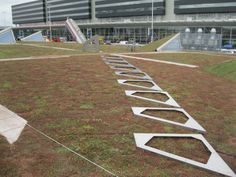 Zinco Solar element with Green Roofs