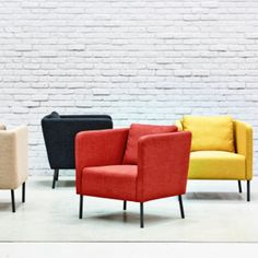 Villstad ikea furniture pinterest ikea poufs and armchairs - Fauteuil orange ikea ...