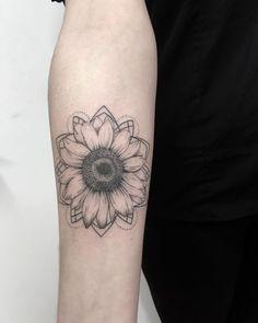 sunflower tattoos #beautytatoos