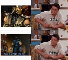 Mortal Kombat Memes, Mortal Kombat Art, Noob Saibot, Mortal Combat, Street Fighter, Funny Pictures, Humor, Scorpion, Random