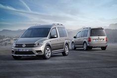 New VW Caddy Gets Alltrack