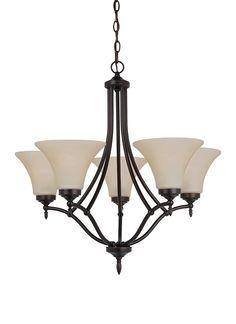 Seagull Lighting - Five Light Chandelier