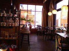 Coffee Shop with huge windows