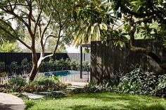 6 Interested Hacks: Cedar Fence Farm house fence tips.Front Yard Fence Between Neighbors hidden pool fence. Front Yard Fence, Pool Fence, Backyard Fences, Garden Fencing, Fence Design, Garden Design, Kennedy Nolan, Green Fence, Black Fence