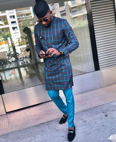 In this post, you'd get to see some of the hottest and coolest senator suit styles as sported by West African men in See them here African Shirts For Men, African Dresses Men, African Attire For Men, African Wear, African Style, African Women, Nigerian Men Fashion, African Print Fashion, Native Fashion