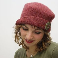 It's Hip to be a Square Felted Hat | Knitting Patterns | LoveKnitting