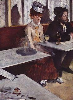 "Degas's ""Absynthe"""