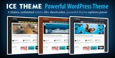 See More Ice Theme - Powerful WordPress Themetoday price drop and special promotion. Get The best buy