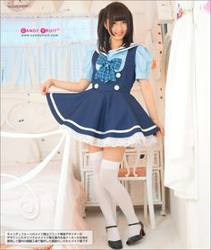 - CANDYFRUIT --Made in japan kawaii made outfits online shop -- Victorian Maid, Brolita, Maid Cosplay, Schoolgirl Style, Maid Outfit, French Maid, Sissy Maid, Cheer Skirts, Girl Fashion