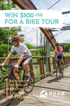 Enter to win and choose from our huge selection of the best bike tours on the planet. Cycling Events, Personal Injury, Bike Life, Cool Bikes, Getting Out, Lp, Things That Bounce, Giveaway, Competition
