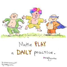 Buddha Doodle - 'Play'by Mollycules♥ Please Share with your Friends! ♥