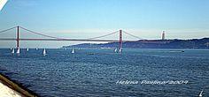 Ponte 25 Abril, rio Tejo, Lisboa, Portugal