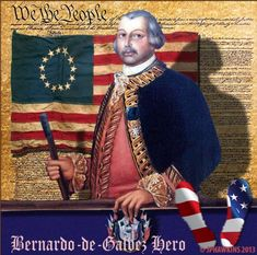 Bernardo de Gálvez, el español que desfiló a la derecha de George Washington el…