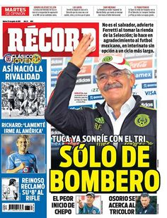 México - RÉCORD 25 de agosto del 2015
