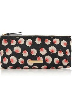 Printed canvas cosmetics case #women #covetme #stellamccartney