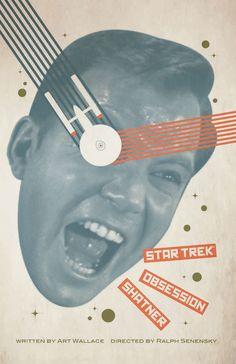 Star Trek The Original Series Juan Ortiz October Art Prints -- Obsession