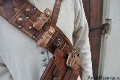 The Witcher bandolier, detail