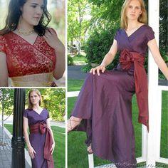 Fantasia Dress Sewing Pattern by Sew Chic Pattern Company