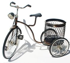 Miniature Bicycle - Handycraft Diecast Bike from Yogyakarta