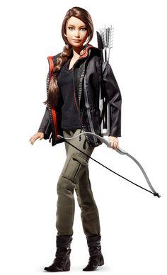 Katniss Everdeen | Barbie Collector, $29.95
