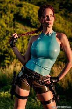 Bianca Beauchamp as Lara Croft