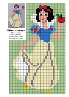 Blancanieves princesa - Snow White  princess