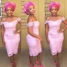 Joselyn Dumas Looks Smoking Hot in Gorgeous Aso-Ebi Styles - Wedding Digest NaijaWedding Digest Naija