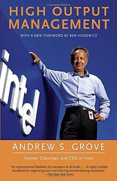 High Output Management by Andrew S. Grove http://www.amazon.com/dp/0679762884/ref=cm_sw_r_pi_dp_-Sx2wb1EJJTF6