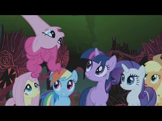 MLP: FiM - Ríete del Miedo (Giggle at the Ghostly: Laughter Song) [Español Latino] - YouTube