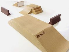 Papermau: Build Your Own Fingerboard Skate Park Papercraft - by Smuzi