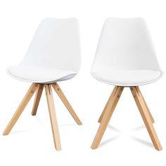 La redoute 142 euros les 2 Lot de 2 chaises design Ormond Wood DRAWER