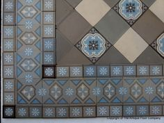 another possible sun porch tile inspiration