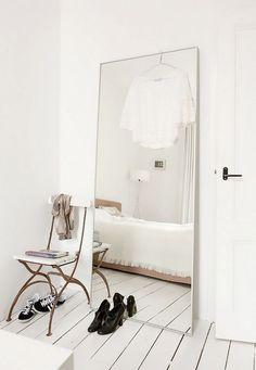 måttbeställ spegel från glasmästare, billigare än att köpa färdig
