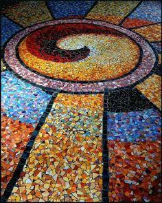 Beautiful mosaic shading