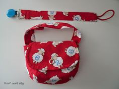 TresP craft blog: TUTORIAL CHUPETERO Y BOLSITO PARA CHUPETES Sewing Tutorials, Sewing Crafts, Baby Presents, Blogging For Beginners, Baby Sewing, Blog Tips, Diy For Kids, Bag Accessories, Lunch Box