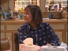 Roseanne - Jackie on the phone.  Funniest scene ever! My absolute favorite scene of a TV show EVER!! @Mandy Sparks, this is for you!