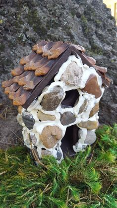 House, Fairy Garden House with Window